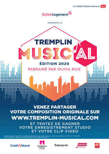 Poster du tremplin musical